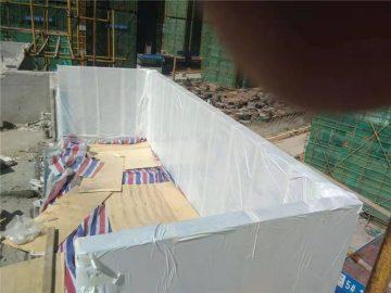 90mm özel akrilik kapak yüzme havuzu