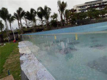 Özel kesim açık akrilik yüzme havuzu panelleri